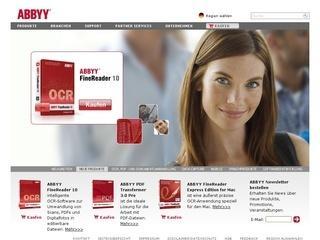 ABBYY Produkte 30% Rabatt