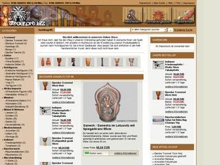 5,-- Euro Rabatt bei Afrostore.biz - Afrikanisches- & internationales Kunsthandwerk