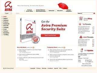 20% Rabatt-Gutschein bei Avira Antivirus!