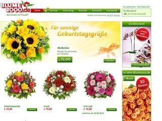 10% Rabatt bei Blume2000.de sichern!