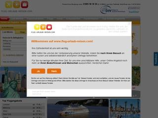 50,- EURO Reisegutschein bei flug-urlaub-reisen.com absahnen!
