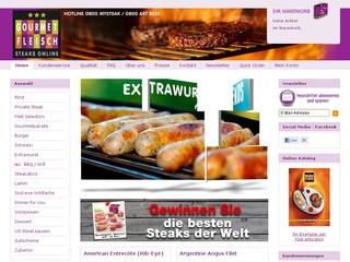 10% Rabatt bei Gourmetfleisch.de - die zartesten Steaks online