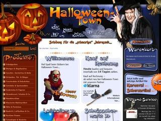 10% auf Kostüme und mehr bei Halloween-Town.de