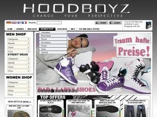 Nur Heute: Hoodboyz 70% Rabattgutschein!
