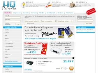 5% Rabatt bei HQ-Patronen.de - der Toner und Druckerpatronen Shop