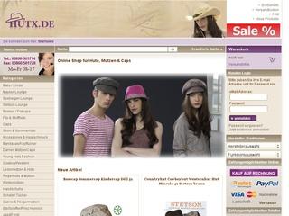 5% Gutschein bei Hutx.de dem Hut, Mützen & Caps Online shop