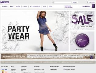 Mexx eShop Kostenfreie Lieferung ab 50€