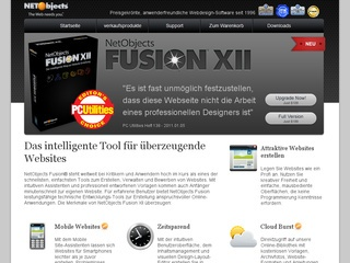 NetObjects Fusion XII 20% Rabatt sichern!