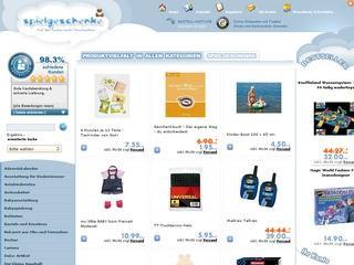 3,-EUR Gutschein bei Spielgeschenke.de dem Spielwaren-Shop im Netz sichern!