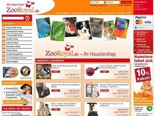 Bei ZooRoyal.de 3% Rabatt sichern!